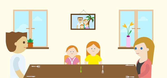 10 pasos para el éxito de las comidas familiares